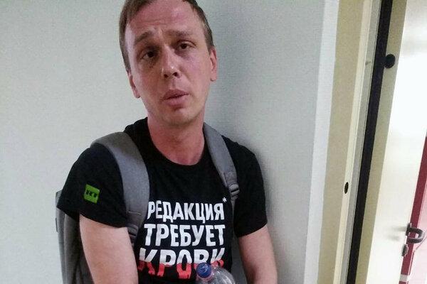 Ruský novinár Ivan Golunov.
