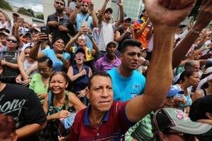 Utečenci z Venezuely.