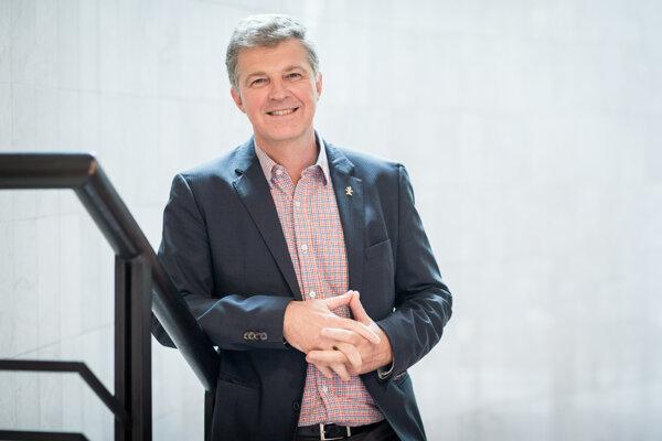 Markus Dettenhofer, riaditeľ výskumného centra CEITEC.