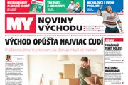 Nové číslo MY Noviny východu je v predaji od utorka 11. júna.
