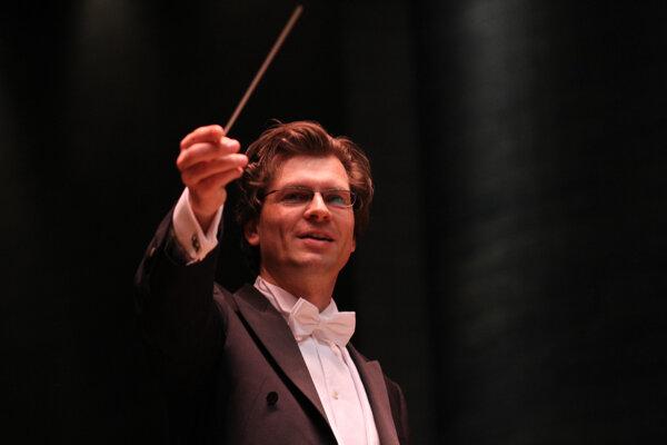 Dirigent Martin Majkút.