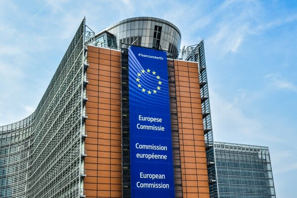 Brusel, budova Európskej komisie
