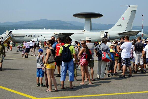 Na Sliač znova priletí aj prieskumné lietadlo  AWACS.
