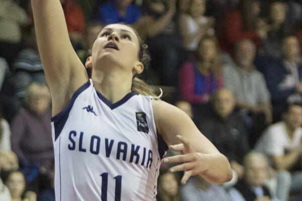 Slovenská reprezentantka Sabína Oroszová.