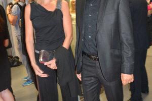 Pavel Kříž s manželkou.