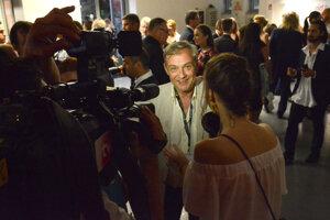 Na otázky novinárov odpovedal Roman Luknár s úsmevom.