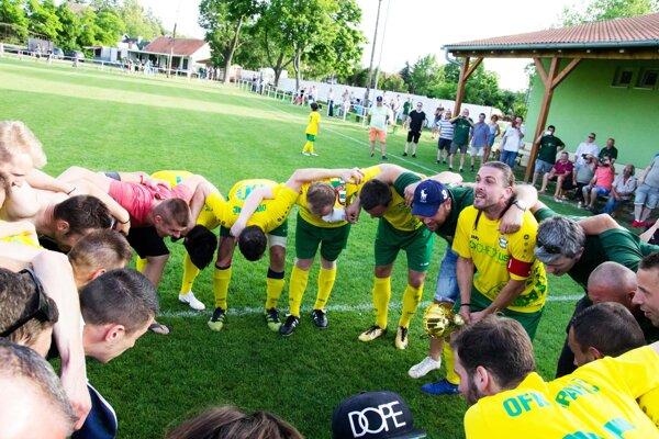 Z víťazstva v7. lige B sa tešili futbalisti OFK Branč.