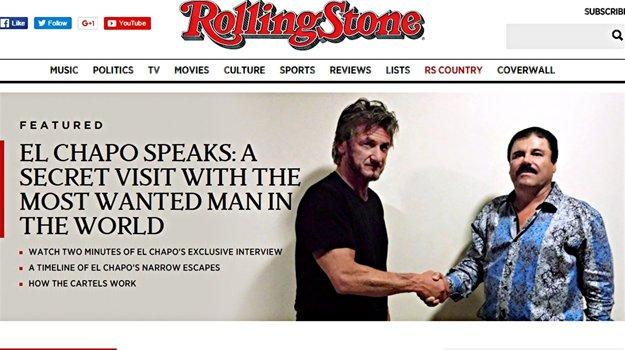 Sean Penn a El Chapo. Toto stretnutie komentovali všetky druhy médií.