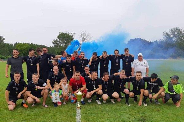 FC Komjatice - víťaz VI.ligy ObFZ Nové Zámky