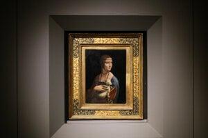 Dáma s hranostajom patrí k najslávnejším dielam Leonarda da Vinci.
