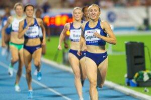 Gabriela Gajanová je v súčasnosti najväčším slovenským atletickým talentom.