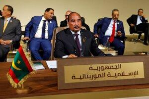 Mauritánsky prezident Muhammad uld Abdal Azíz .