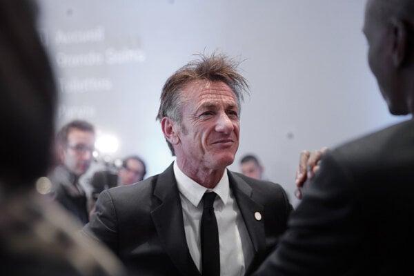 Americký herec a režisér Sean Penn.