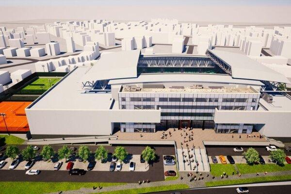 Oboch akcionárov rozdeľuje názor na to, kde má nové Národné tenisové centrum v Košiciach stáť.