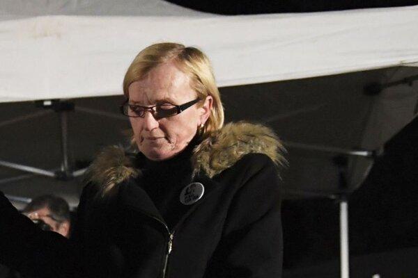 Zlatica Kušnírová, matka zavraždenej Martiny Kušnírovej.
