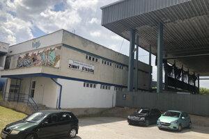 Zimný štadión v Rožňave.