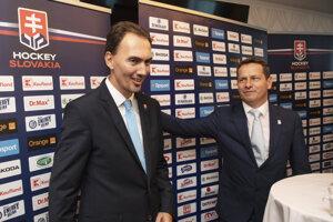 Miroslav Šatan a Martin Kohút.