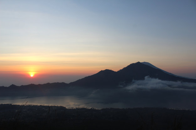 Mount Batur.