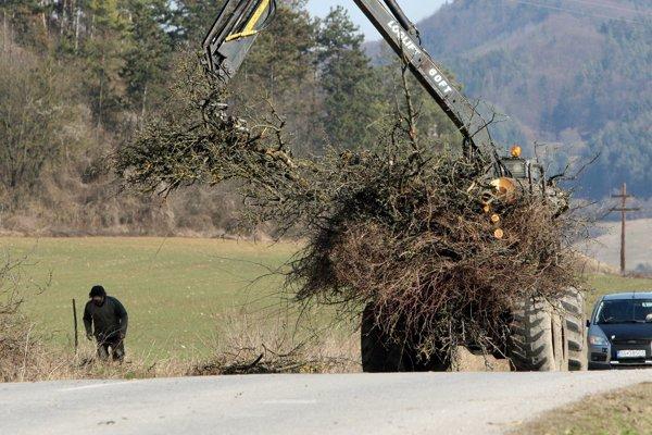 Koniec ovocného stromoradia pri Slovenskej Ľupči. Budú nasledovať ďalšie?