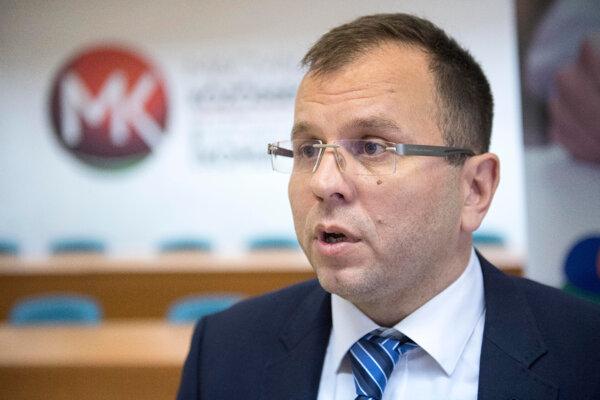 Predseda Republikovej rady SMK Péter Őry.