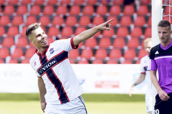 Martin Kovaľ strelil už dva góly vdrese FC ViOn.