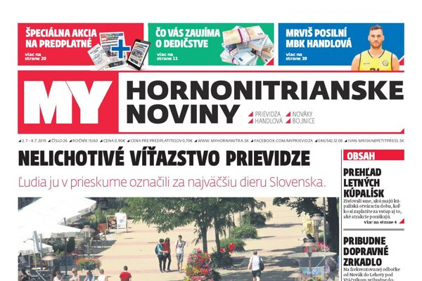 Nové číslo MY Hornonitrianskych novín.