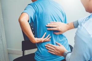 Svalové spazmy sa často objavujú v oblasti krčnej a krížovej chrbtice.