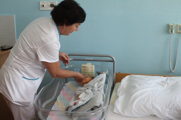Monitor uľahčuje prácu aj zdravotným sestrám.