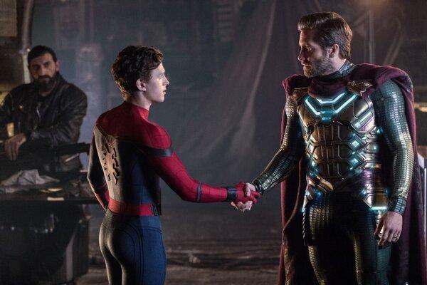 Fotografia z filmu Spider-Man: Ďaleko od domova