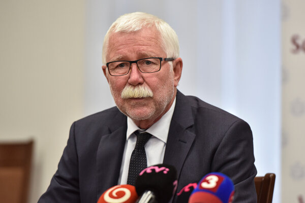 Predseda Slovenskej akadémie vied Pavol Šajgalík.