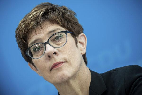 Annegret Krampová-Karrenbauerová.