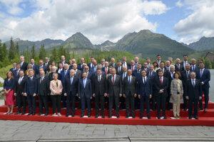 Účastníci neformálneho stretnutia ministrov zahraničných vecí účastníckych štátov OBSE.
