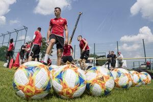 Futbalisti FC Spartak Trnava počas letnej prípravy.