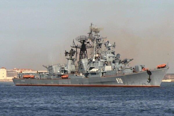 Smetlivyj - raketový torpédoborec triedy Projekt 61.