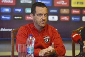Dnes už bývalý tréner Spartaka Trnava Ricardo Chéu.