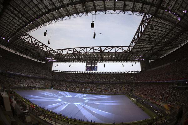 Pohľad na štadión San Siro.