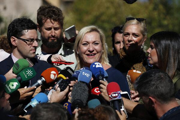 Inés Madrigalová našla svojich biologických rodičov.