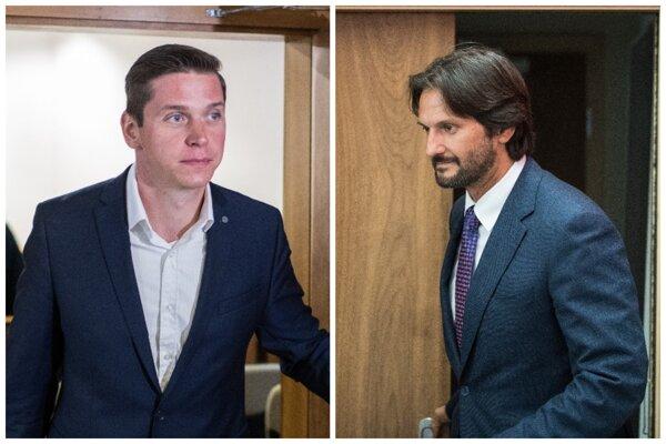 Filip Rybanič a Robert Kaliňák.