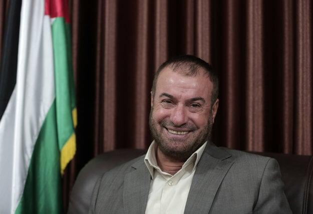 Fásí Hamád počas rozhovoru v roku 2016.