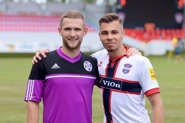 Martin Kovaľ (vpravo) verí, že v Zlatých Moravciach sa presadí.