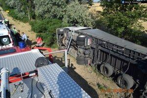 český vodič nafúkal vyše dvoch promile