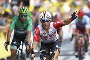Austrálčan Caleb Ewan z tímu Lotto Soudal vyhral 11. etapu Tour de France 2019.