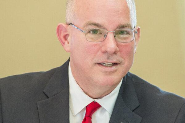 Prezident U. S. Steelu Košice James E. Bruno.