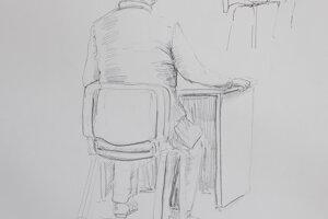 Ako vznikali kresby. Pavol Rusko na súde vypovedal niekoľko hodín.