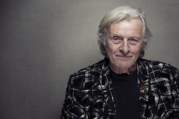Holandský herec Rutger Hauer.