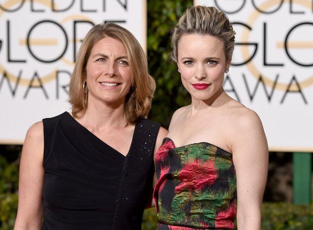 Novinárka Sacha Pfeiffer s herečkou Rachel McAdamsovou, ktorú ju vo filme Spotlight stvárnila.