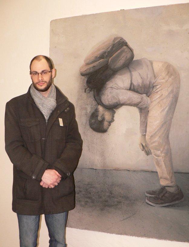 Rastislav Podhorský pilotný obraz svojej série pomenoval Mužské korenie.