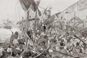 Nájazdy morských národov zastavili až vojská egyptského faraóna.