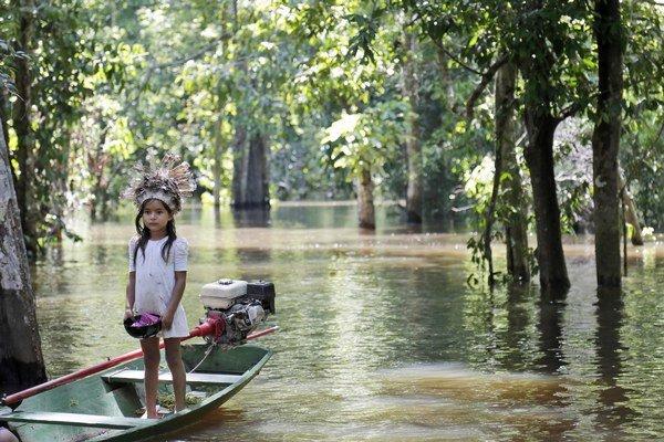 Rieky v dnešnej oblasti Amazónie pôvodne tiekli na západ. Pred desiatimi miliónmi rokov  sa ich smer zmenil a postupne vznikla Amazonka.