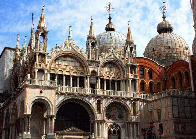 Benátky. Bazilika sv. Marka.